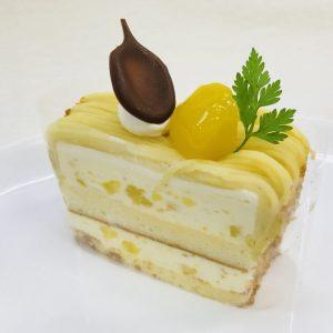 マロンケーキの画像